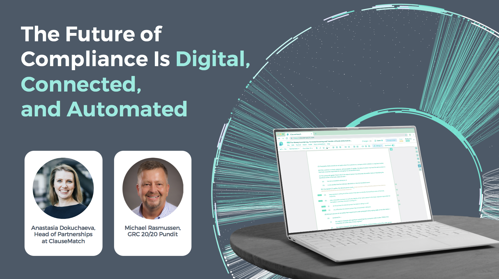 The Future of Compliance is Digital, Connected and Automated